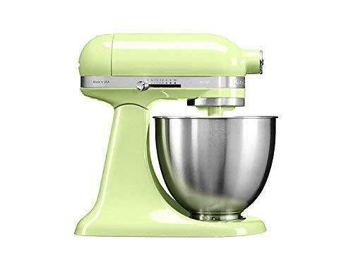 KitchenAid Mini - Robot de cocina (3,3 L, Verde, palanca, 200 RPM, 1,219 m, CC)