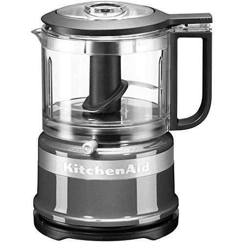 KitchenAid 5KFC3516 Picadora, 240 W, Gris Oscuro