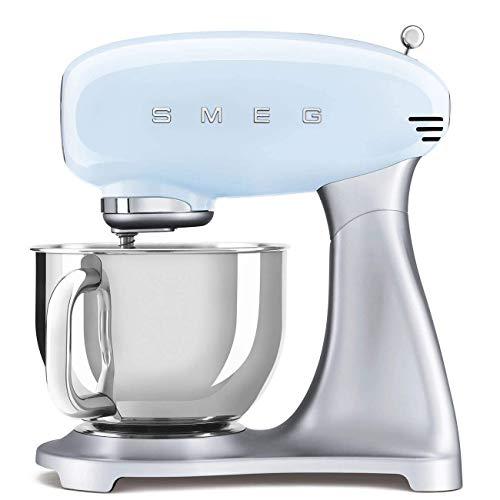 Smeg SMF02PBEU robot de cocina, Acero Inoxidable, Azul