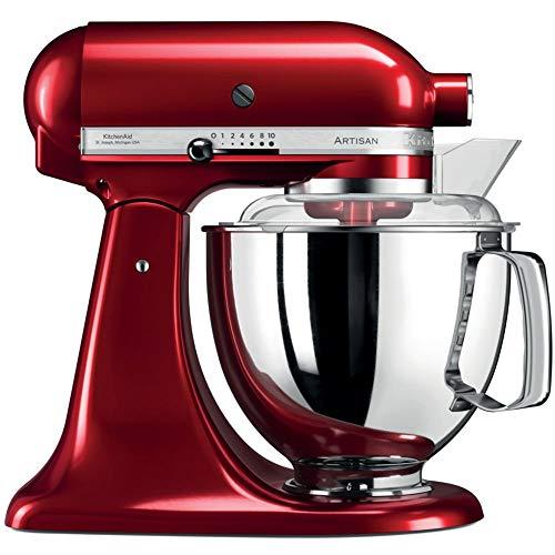 KitchenAid Artisan - Robot de cocina (Rojo, Acero inoxidable, 50/60 Hz)
