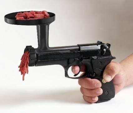 pistola picadora carne