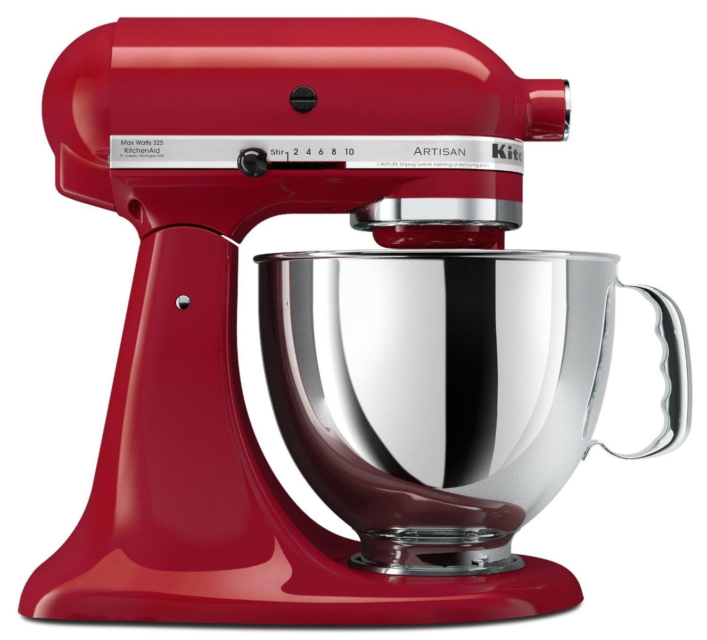 KitchenAid-5-quart-Stand-Empire-Red