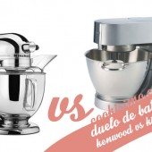 Duelo de batidoras: Kenwood vs KitchenAid