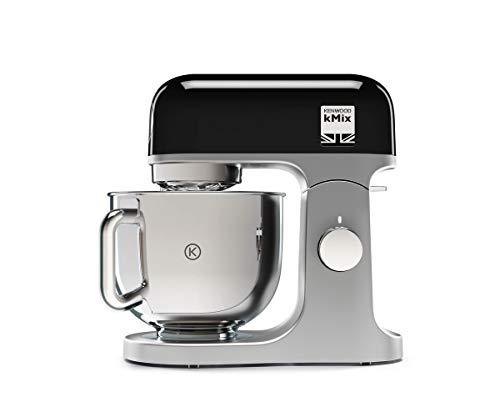 Kenwood kMX750BK – Robot de cocina 1000w, procesador alimentos 6 velocidades, 1000 W, 0 Decibelios, Stainless steel, negro