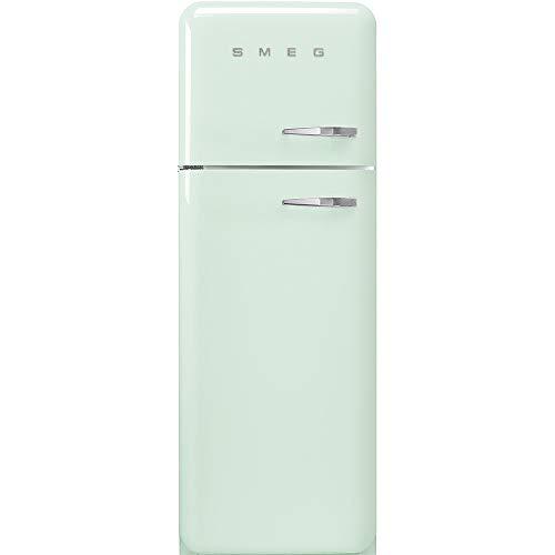 Smeg FAB30LPG3 nevera y congelador Independiente Verde 294 L A+++ - Frigorífico (294 L, SN-T, 4 kg/24h, A+++, Compartimiento de zona fresca, Verde)