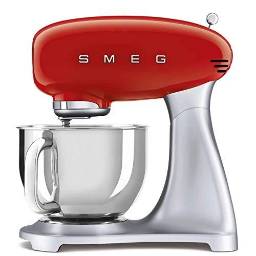 Smeg SMF02RDEU robot de cocina, Acero Inoxidable